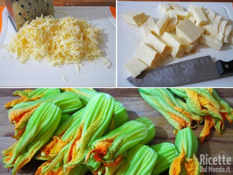Lasagne zucchine e fiori 3