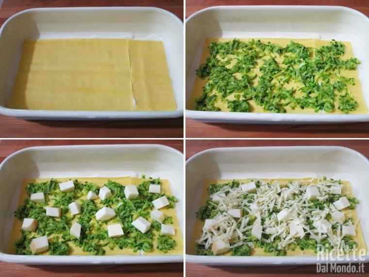 Lasagne zucchine e fiori 4