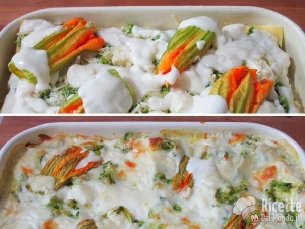 Lasagne zucchine e fiori 6