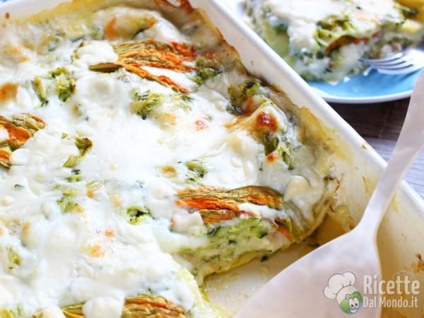 Ricetta lasagne vegetariane estive