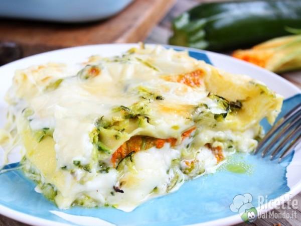 Ricetta lasagne estive vegetariane
