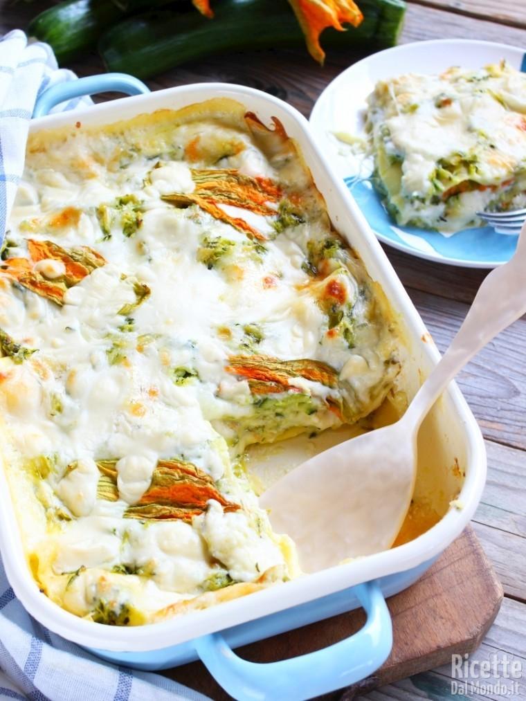 Come fare le lasagne estive vegetariane