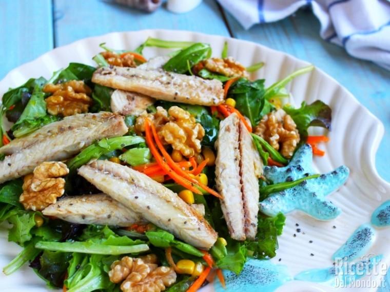 Ricetta insalata di sgombro