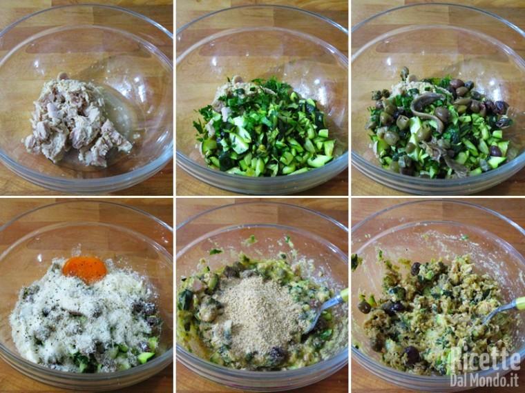 Involtini con tonno e zucchine 4