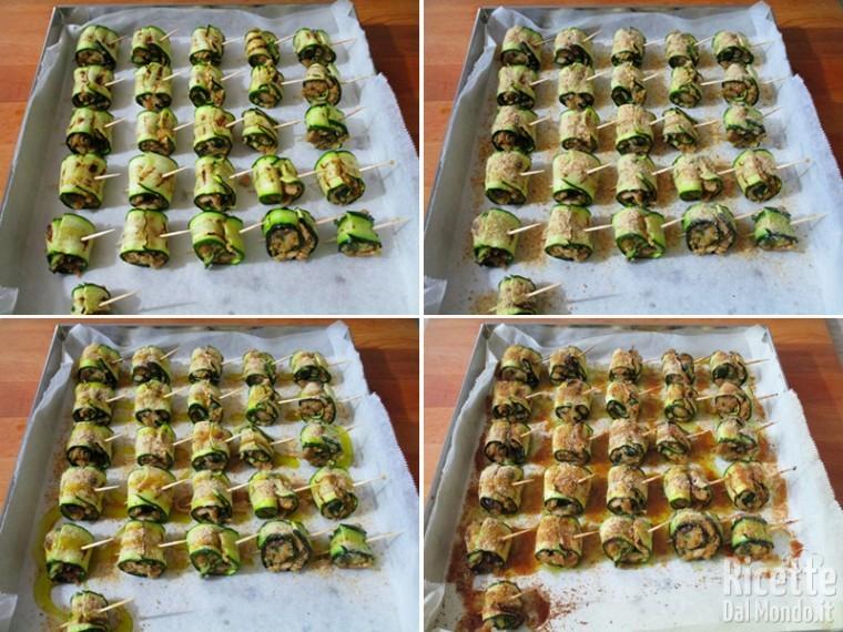 Involtini con tonno e zucchine 7