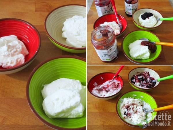 Gelato allo yogurt e marmellata 2