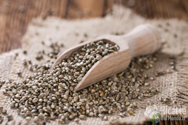 Canapa: i semi, come si usano in cucina