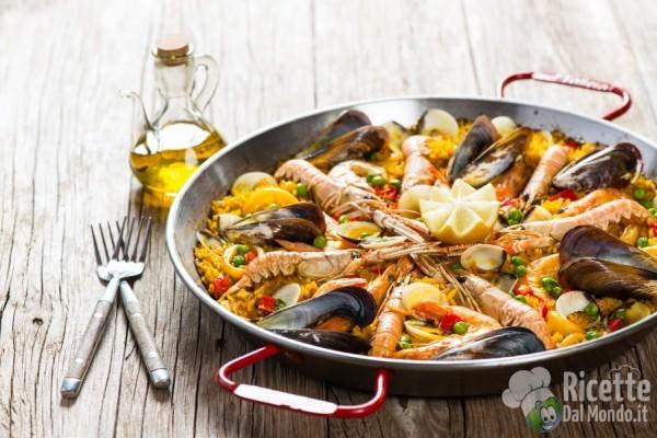 5 ricette etniche da provare: paella de marisco
