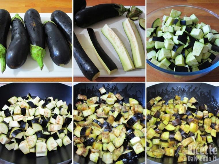 Polpettone vegetariano di melanzane 2