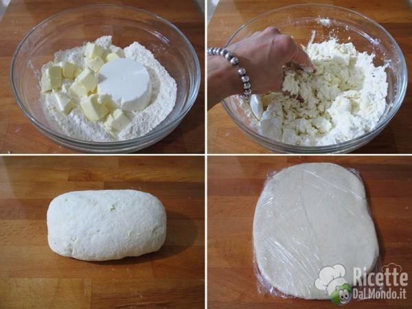 Pasta sfoglia alla ricotta veloce 2