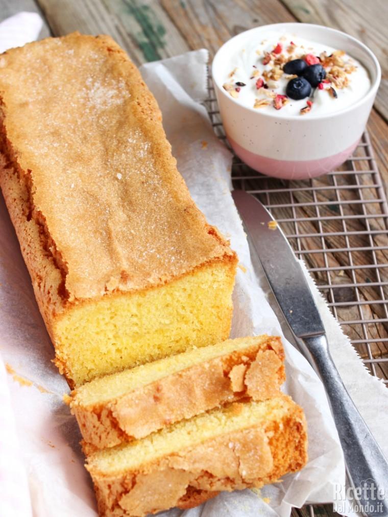 Ricetta madeira cake senza glutine