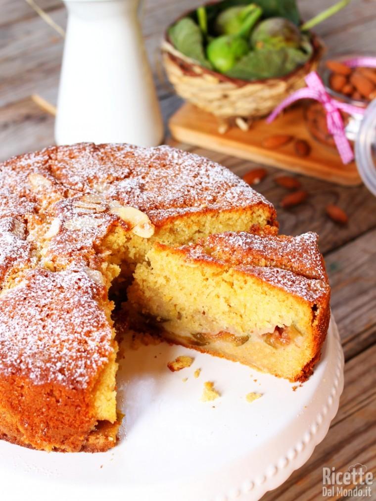 Ricetta torta ai fichi freschi