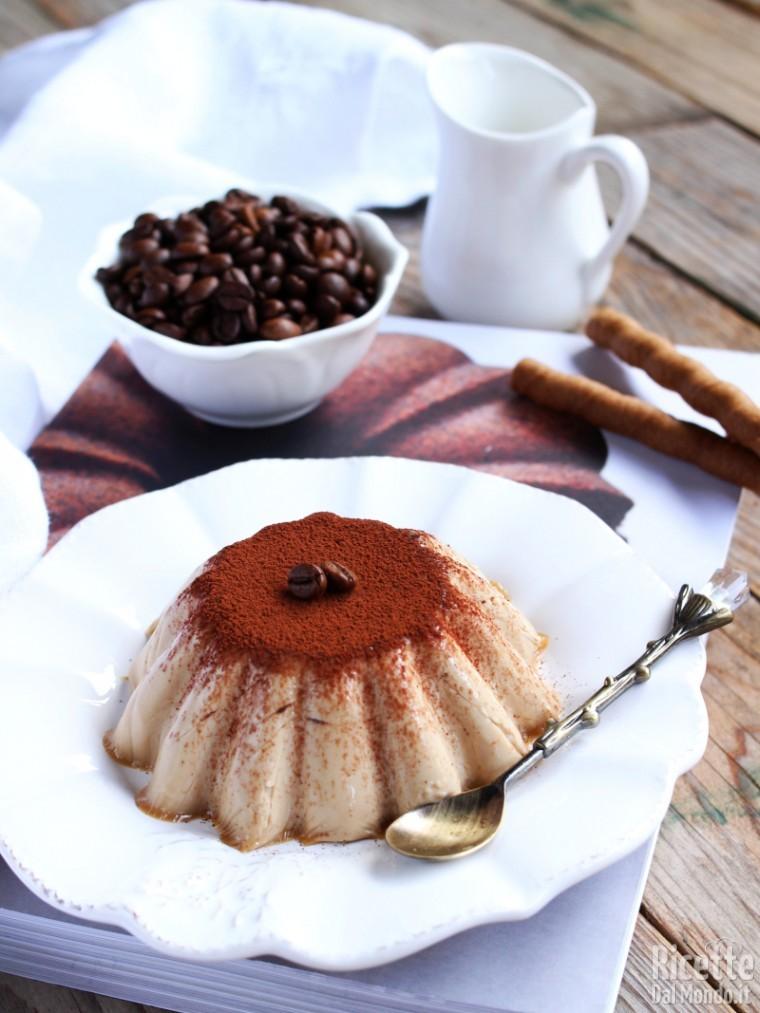 Ricetta della panna cotta al caffè