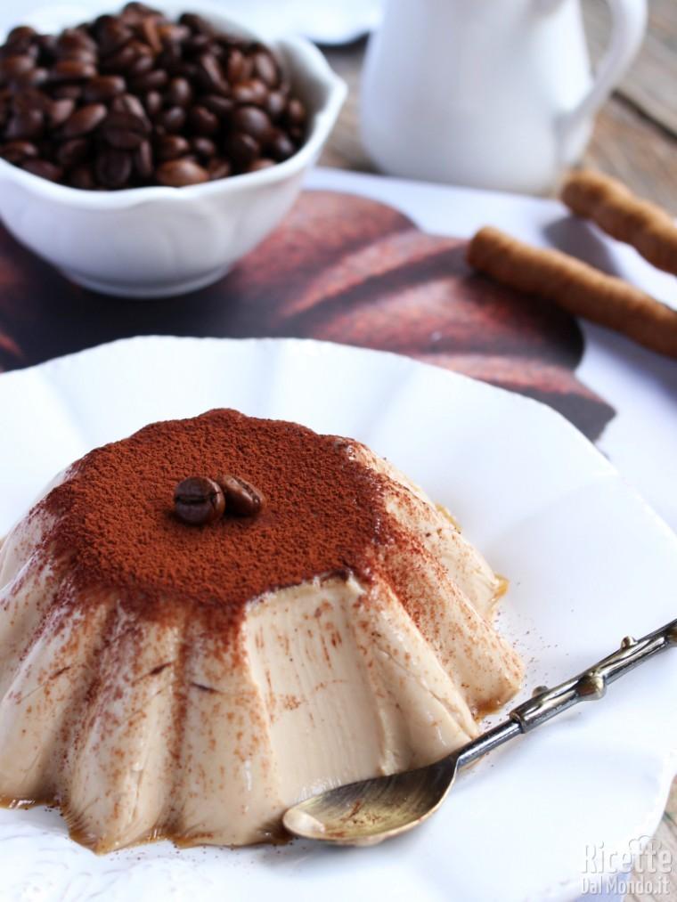 Come fare la panna cotta al caffè