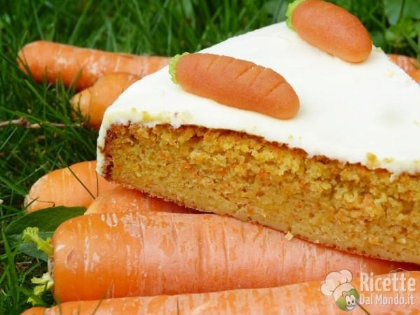 Torta di carote, la ricetta