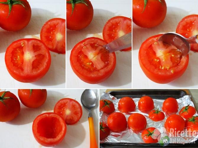 Svuotate i pomodori