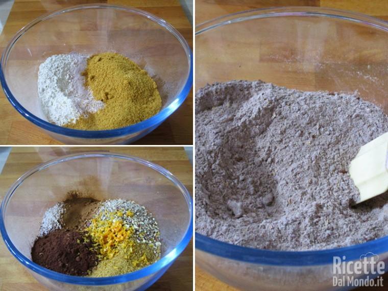 Riunire gli ingredienti secchi