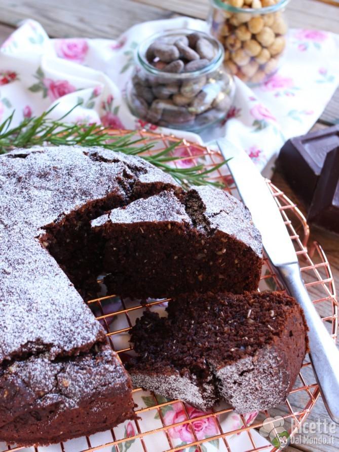 Ricetta della torta integrale al cioccolato vegana