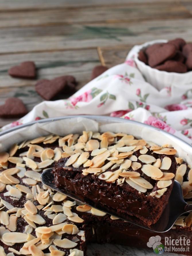 Torta di pasta frolla al cioccolato