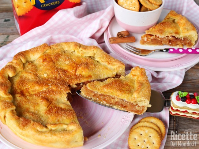 Ricetta Mock Apple Pie