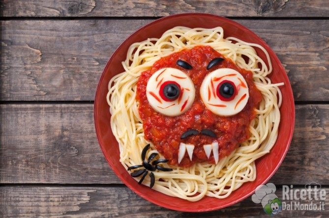 Halloween in cucina dall\'antipasto al dolce
