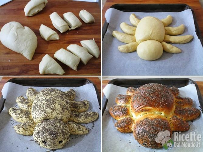 Modellare e cuocere la tarantola