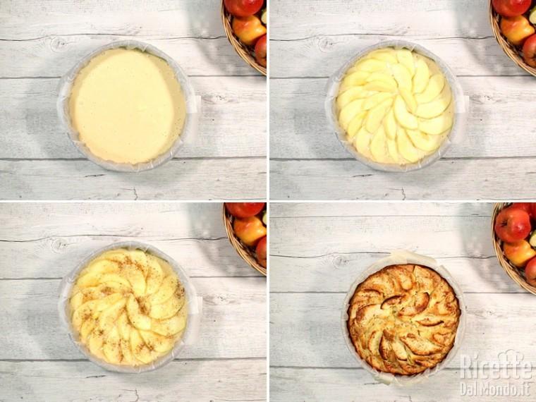 Cuocere la torta in forno preriscaldato