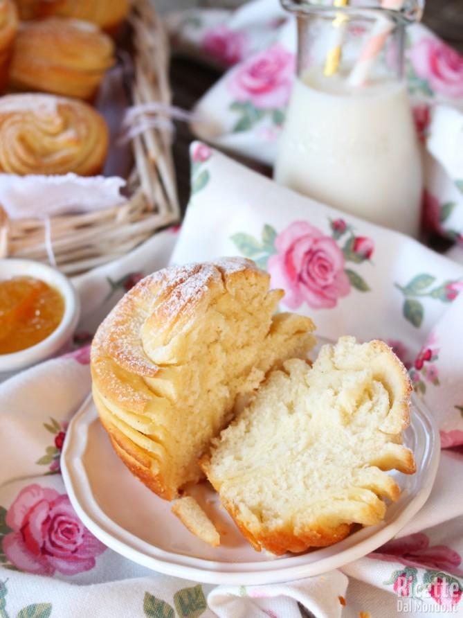 Come fare i muffin sfogliati