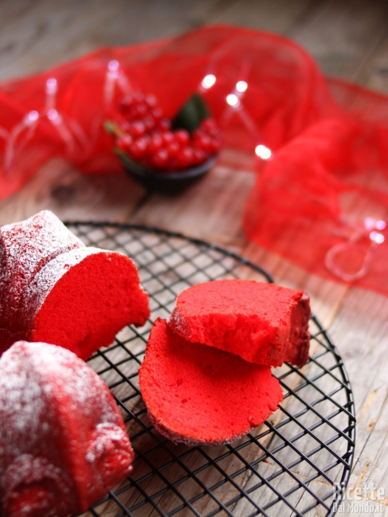 Ciambella rossa di Natale
