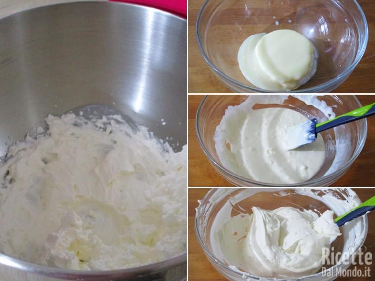 Preparare la crema al mascarpone