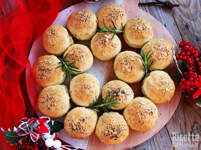Ricetta Corona di panini