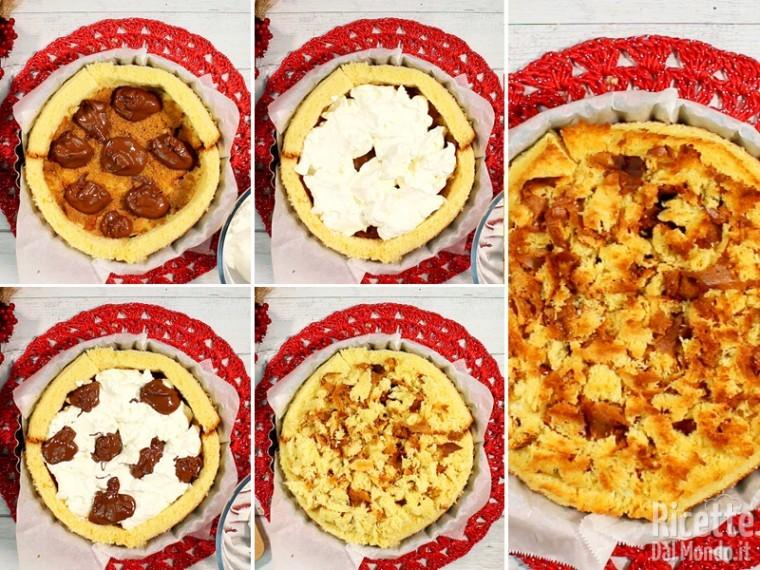 Farcire e cuocere in forno preriscaldato