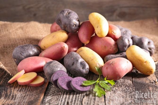 Patatine fritte: le varietà di patate