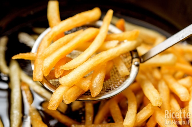 Patatine fritte: l'olio giusto