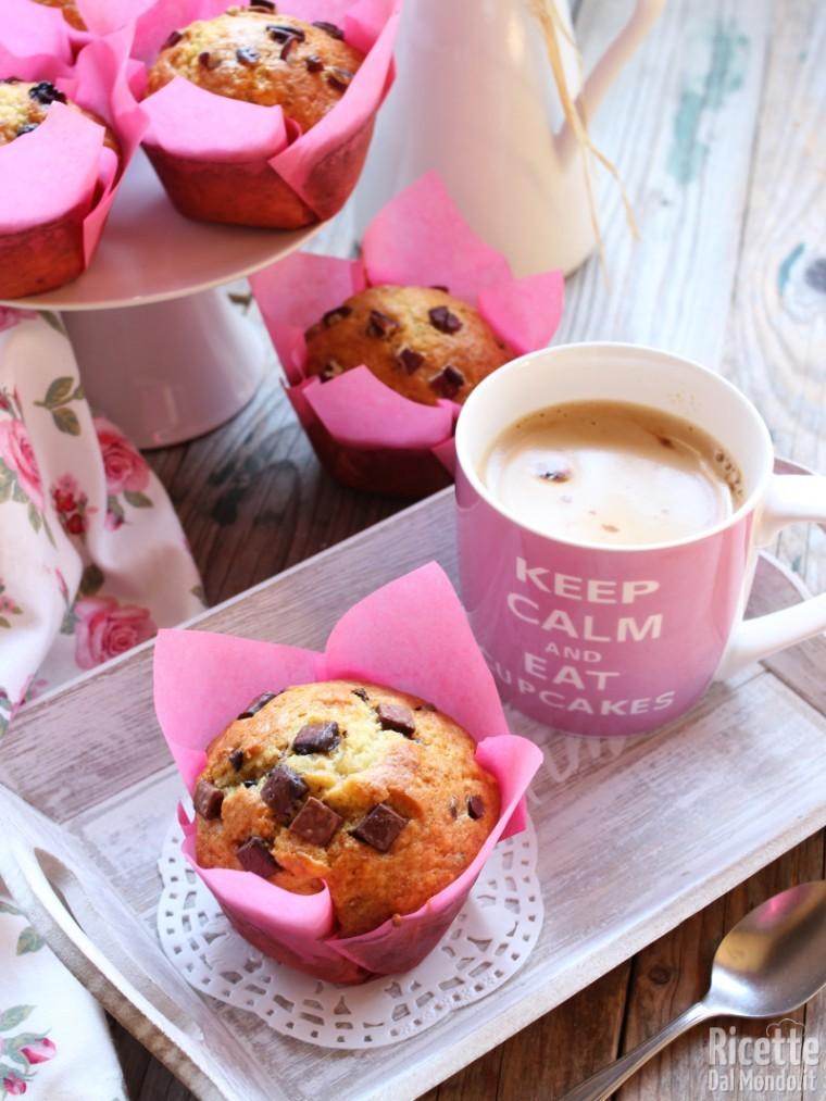 Ricetta muffin come quelli di Sturbucks