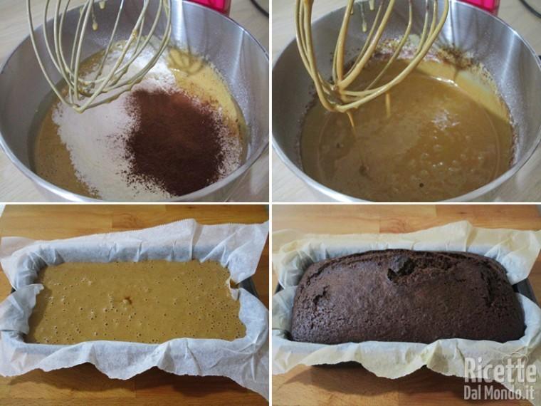 Aggiunger la farina e cuocere il dolce