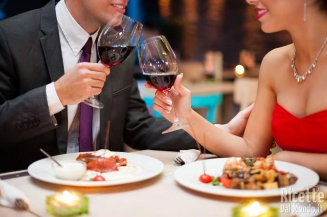 Cena di san Valentino a Milano
