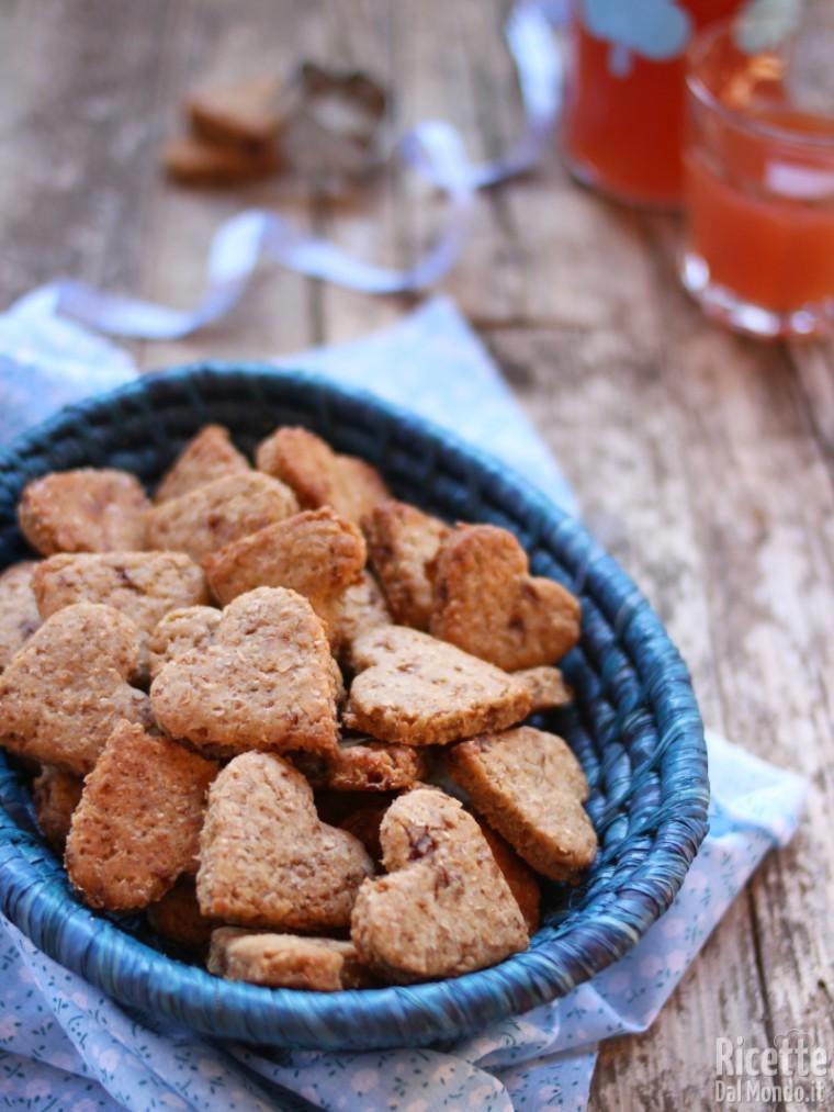 Ricetta biscotti vegani integrali