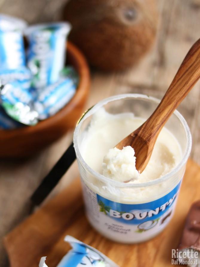 Creme spalmabili: crema bounty al cocco
