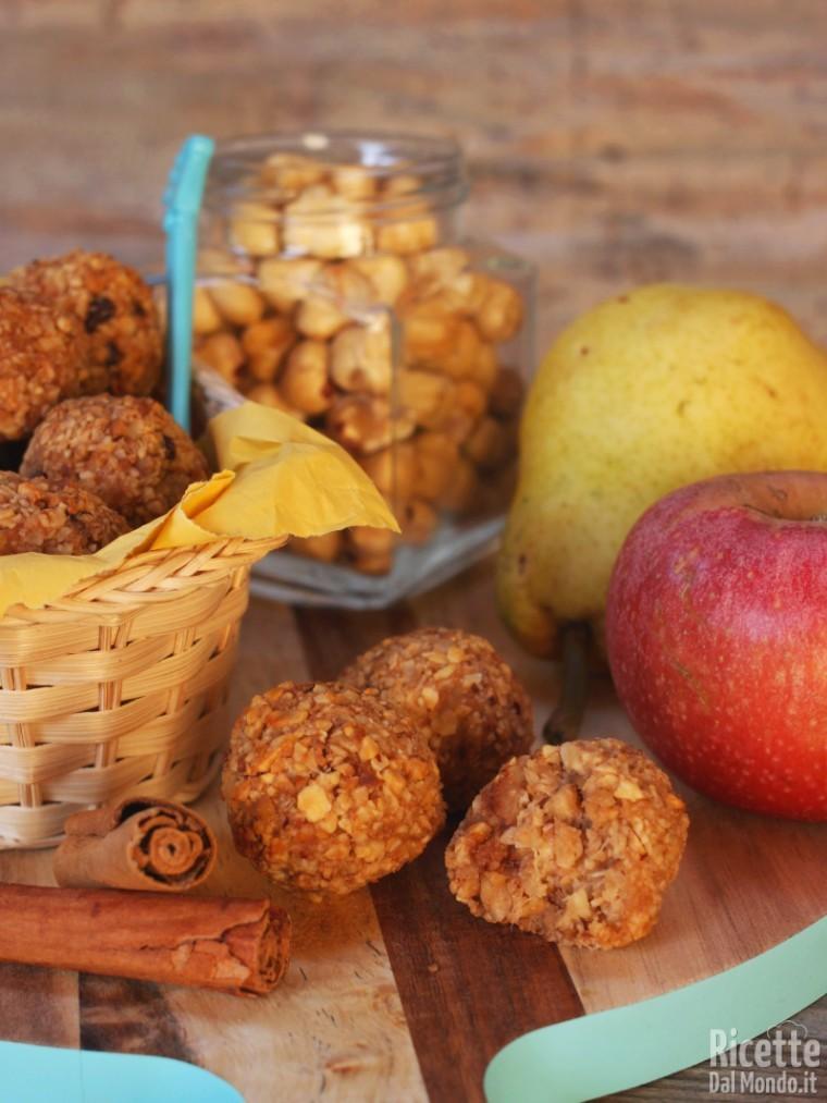 Ricetta tartufini alla frutta