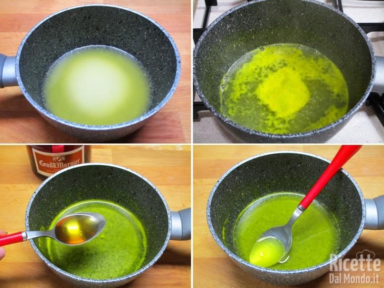 Preparare la bagna all'arancia