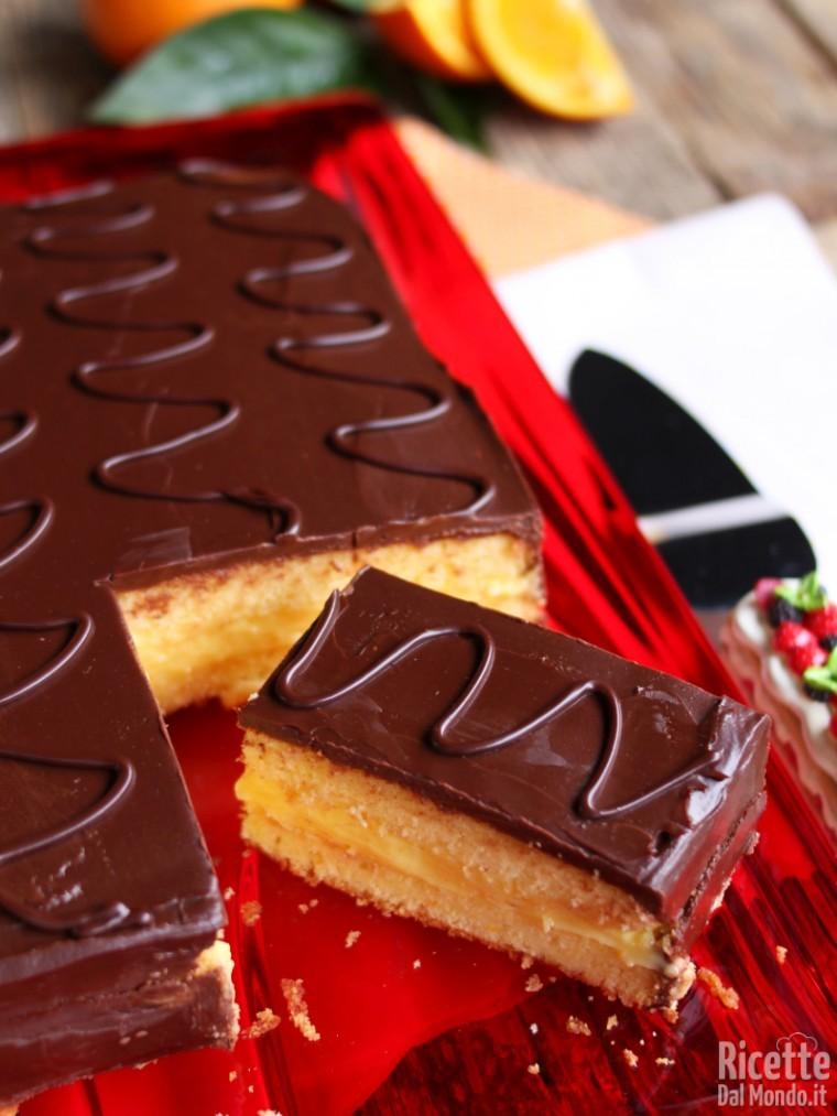 Come fare la torta fiesta arancia e cioccolato