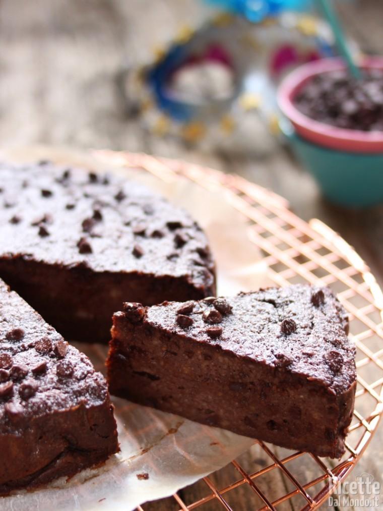 Variante al cioccolato del migliaccio napoletano