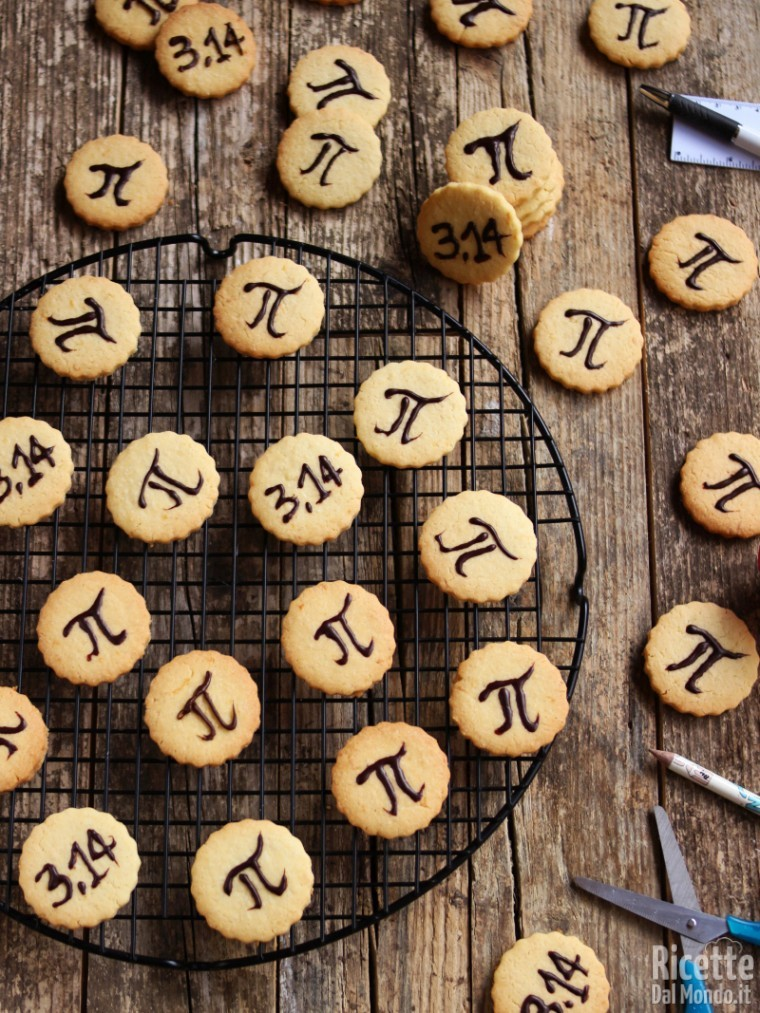Ricetta biscotti pi greco day
