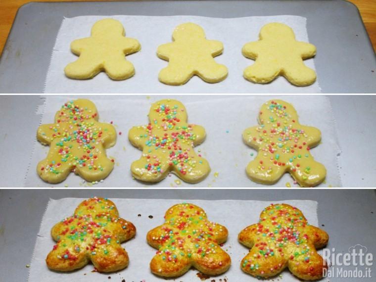 Oppure sagomete dei semplici biscotti
