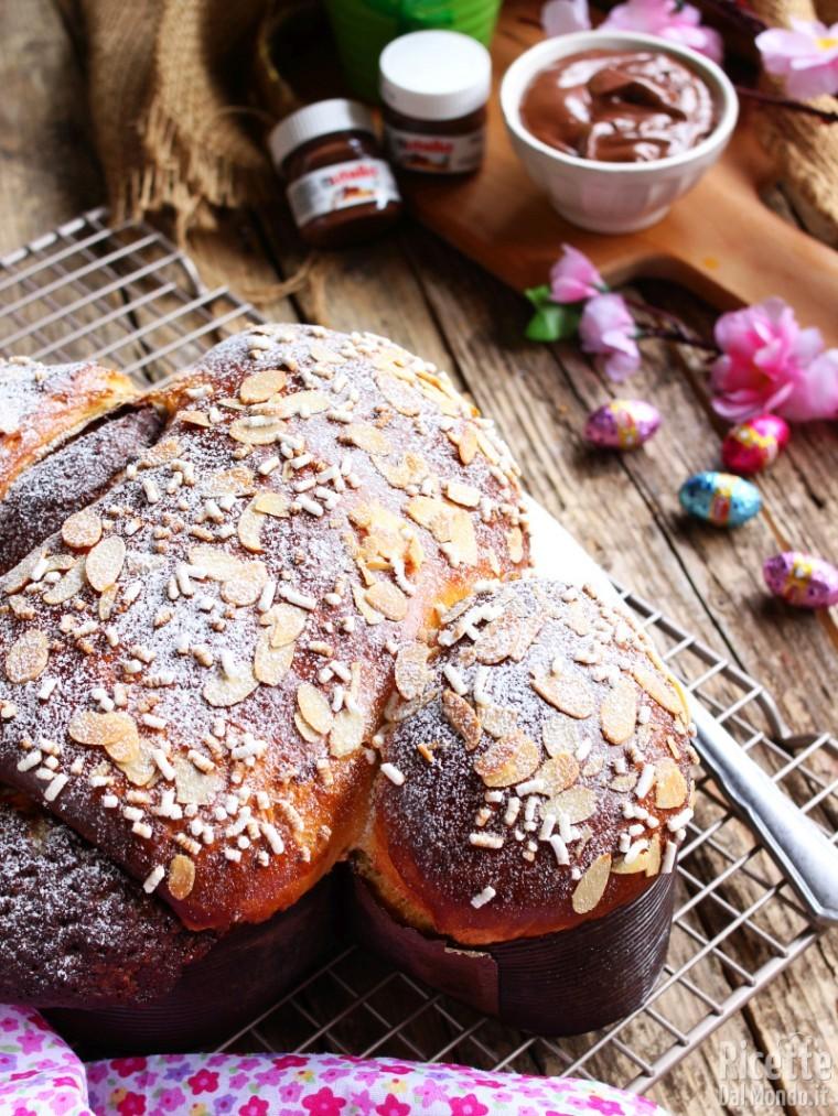 Ricetta colomba di pan brioche sofficissima