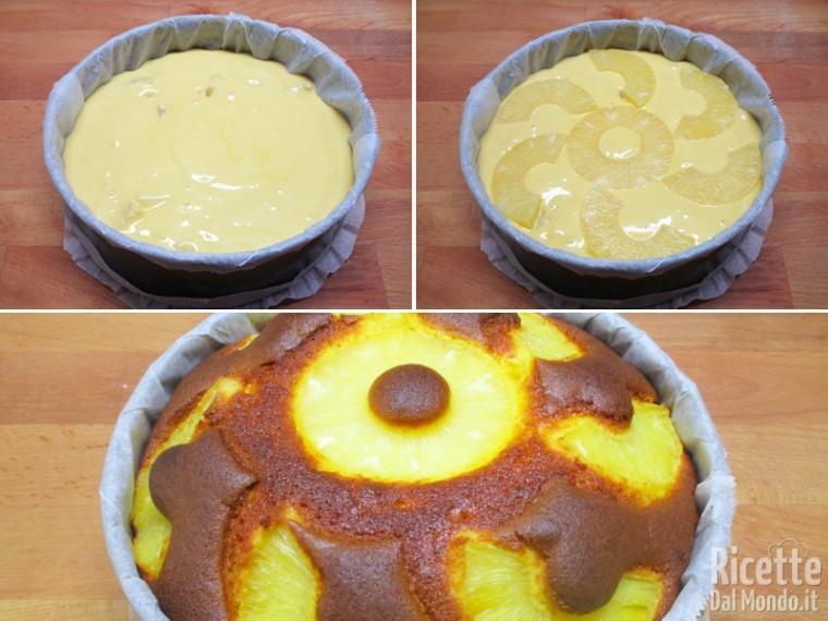 Cuocere la torta in forno caldo
