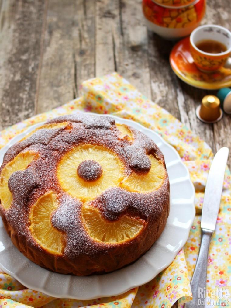 Ricetta torta all'ananas sofficissima