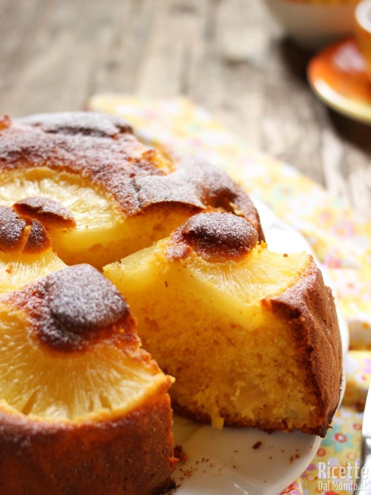 Come fare la torta all'ananas senza burro
