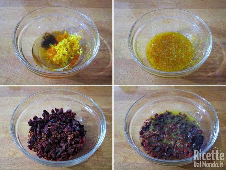 Preparare l'emulsione aromatica